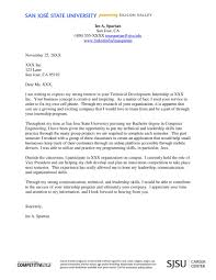 cover letters for internships 16 best cover letter sles for internship wisestep exles of