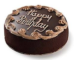 david u0027s cookies chocolate fudge birthday cake 7 u201d amazon com