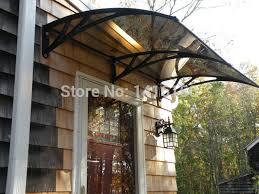 Aluminum Awning Material Suppliers Aliexpress Com Buy Ds100200 A Free Shipping Entrance Door