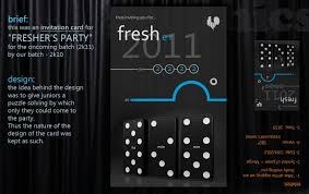 Party Invitation Card Template Invitation Card For Freshers Party Visual Ly