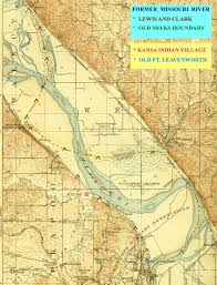 Lewis And Clark Expedition Map An Analysis Of The Fort Leavenworth Race Track Site