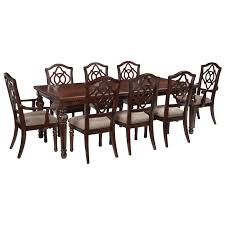 signature design by ashley leahlyn 9 piece rectangular dining