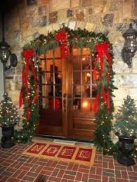Christmas Decoration For Front Door top 10 inspirational christmas front porch decorations holidays