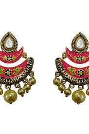 craftsvilla earrings chand bali earrings buy chand bali earrings online craftsvilla