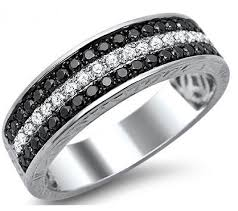 mens black diamond wedding band men s wedding bands mens wedding rings mens engagement rings