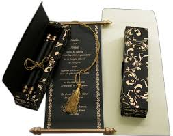 black and gold wedding invitations scroll wedding invitations archives wedding media