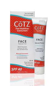 amazon com cotz face natural skin tone spf 40 1 5 ounce beauty
