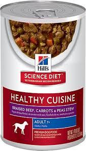 hill u0027s science diet 7 healthy cuisine braised beef carrots