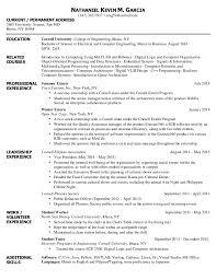 Git Resume Final College Resume