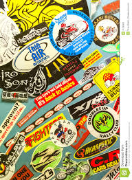 motorcycle stickers editorial photo image motorcycle stickers editorial photo