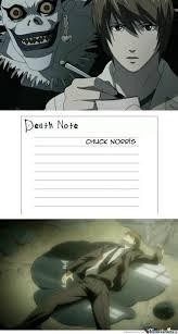 Death Note Meme - death note s power is limited by abcn123 meme center