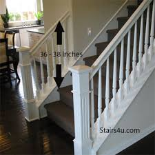 Staircase Banister Gripable Stair Banisters For Guardrail
