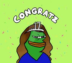 pepe meme birthday card u2014 david dror