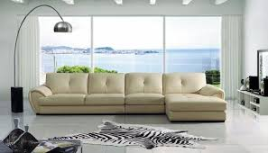 Colored Leather Sofas Sectionals Leather Sofas Russcarnahan Com