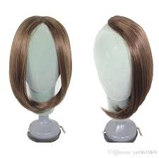 invisible hair invisible false fringe large oblique bangs hair front side