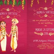 contemporary indian wedding invitations modern indian wedding invitation