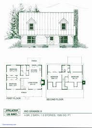 cabin floor plans house plans with loft awesome small cabin floor plans fresh small