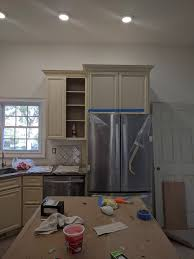how to trim cabinet above refrigerator cabinet above fridge doesn t open