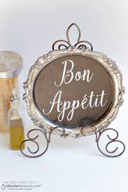 Home Decor Tutorial by Diy Bon Appetit Kitchen Sign Sincerely Jean
