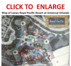 Universal Orlando Maps by Review Loews Royal Pacific Resort At Universal Orlando Continued