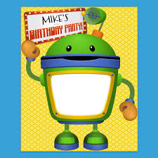 team umizoomi bot party poster nickelodeon parents