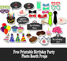 photo booth props for sale free printable birthday party photo booth props jpg