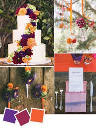 15 wedding color combos you u0027ve never seen you ve purple and