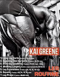 Kai Greene Bench Press Max Kai Greene Massive Leg Training Routine Leg Training