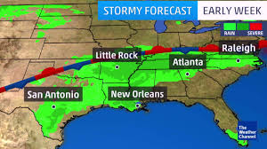 Weather Map New Orleans by What You Can Expect This Week The Weather Channel