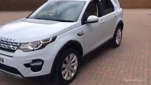 land rover white 2015 land rover discovery sport sd4 hse white 2015 youtube