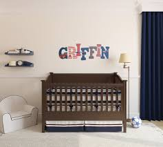 wooden letter set airplane nursery aviator bedroom for