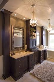 Brown Bathroom Cabinets by Beautiful And So Much Storage Space By Hawksviewhomeskw Love