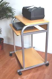 Laptop Desk With Printer Shelf Cuzzi Sts 5801 E Desktop Laptop Tower Computer Desk