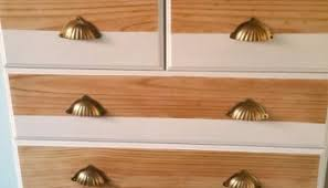 Bedroom Furniture Makeover - painted boys drawers before and after organised pretty home