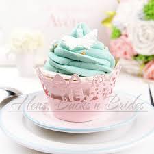 baby shower cupcake cases 24 pcs laser cut pink vine cupcake