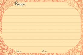 10 great free recipe cards for fall recipe cards recipes and
