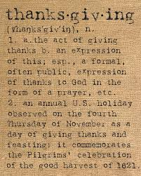 thanksgiving a definition thanksgiving ideas artsy