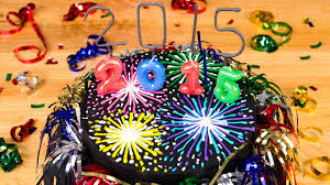 New Year Cupcake Decoration by Fireworks New Year U0027s Cake From Cookies Cupcakes And Cardio Youtube