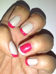 diy french manicure u2013 the neon leopard