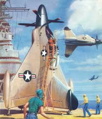 experiment aircraft vtol united states airforce art print