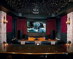 Armchair Black Design Ideas Astonishing Red Velvet Home Theater Traditional Design Ideas With