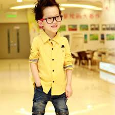 kid boy clothes sleeve casual shirt toddler button