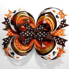 best 25 thanksgiving hair bows ideas on ribbon bows