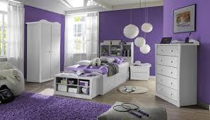 lila schlafzimmer wand ideen