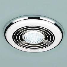 Bathroom Ceiling Fan And Light Chrome Ceiling Fans Bathroom Fan With Light Intended For Designs 8