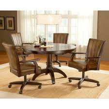 Kitchen Chairs With Rollers Kitchen Idea - Dining room chairs with rollers