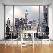 Skyline Wallpaper Bedroom Cheap Landscape Wallpaper Buy Quality Custom Mural Directly From