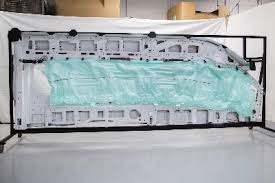Curtain Airbag Automotive Industry S Only Five Row Side Curtain Airbag Debuts In