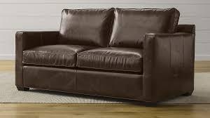 crate and barrel full sleeper sofa davis leather full sleeper sofa reviews crate and barrel