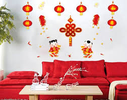 Cny Home Decor New Year Wall Sticker Malaysia Merry Happy